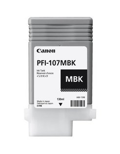 Canon PFI-107MBK MatZwart (Origineel)