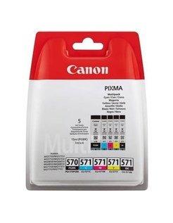 Canon PGI-570/CLI-571 Zwart en Kleur (5-Pack) (Origineel)