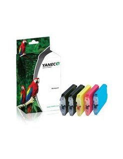 Yanec LC-1100/LC-980/LC-985 Zwart en Kleur (5-Pack)(Brother)