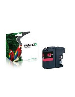 Yanec LC-123M Magenta (Brother)