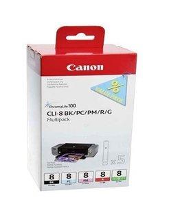 Canon CLI-8 Zwart en Kleur (5-Pack) (Origineel)