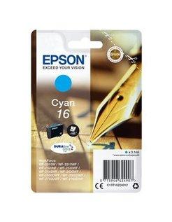 EPSON 16 inktcartridge cyaan standard capacity 3.1ml 165 pag