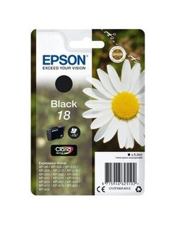 Epson 18 Zwart (Origineel)