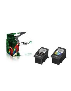 Yanec PG-540/CL-541 XL Zwart en Kleur (2 Pack)(Canon)