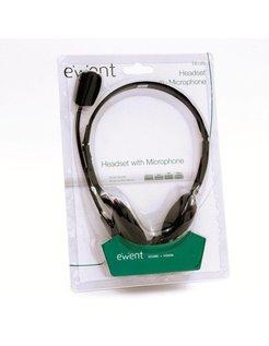 EW3563 Stereofonisch Hoofdband Zwart hoofdtelefoon