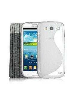 Jibi S-Line TPU Case for Samsung Galaxy S3 Transparent P0122371