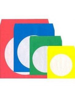 CD / DVD-paper Sleeves Transparent Color 50 St