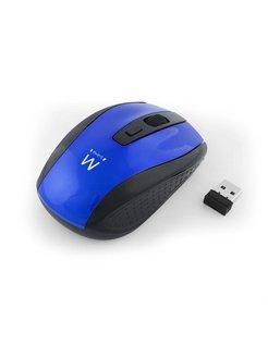 EW3238 RF Draadloos Optisch 1600DPI Ambidextrous Zwart, Blauw muis
