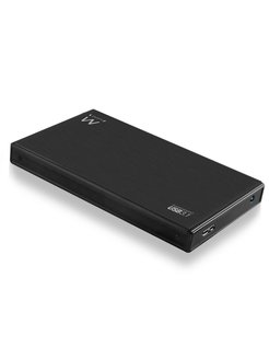 "EW7032 HDD-/SSD-behuizing 2.5"" Zwart opslagbehuizing"