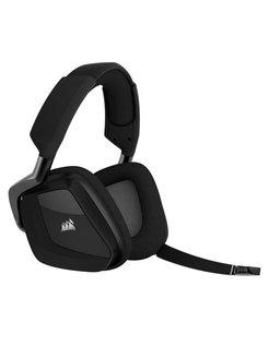 VOID PRO RGB Wireless Premium Stereofonisch Hoofdband Koolstof hoofdtelefoon