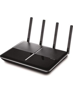TP-LINK AC2300 Dual-Band Dual-band (2.4 GHz / 5 GHz) Gigabit Ethernet Zwart draadloze router