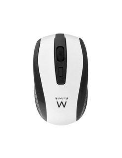 EW3236 RF Draadloos Optisch 1600DPI Ambidextrous Zwart, Wit muis