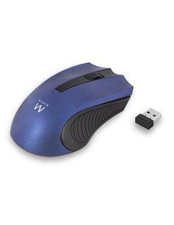 EW3228 RF Draadloos Optisch 1000DPI Ambidextrous Zwart, Blauw muis