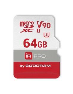 IRDM PRO MicroCard 64GB SDXC UHS-II Klasse 10 flashgeheugen