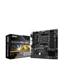 B350M PRO-VDH AMD B350 Socket AM4 Micro ATX