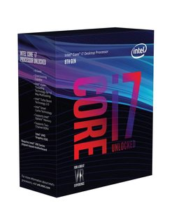 Core ® ™ i7-8700K Processor (12M Cache, up to 4.70 GHz) 3.7GHz 12MB Smart Cache Box processor