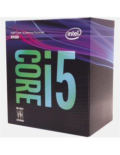 Core ® ™ i5-8400 Processor (9M Cache, up to 4.00 GHz) 2.8GHz 9MB Smart Cache Box processor