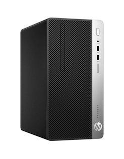 HP 400 DESKTOP G4 / i5-7500 / 8GB / 256GB SSD / DVD / W10P