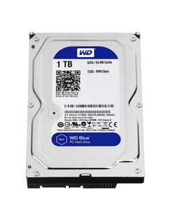 Blue 1TB IntelliPower - 64MB - SATA3