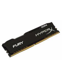 HyperX FURY Memory Black 4GB DDR4 2400MHz 4GB DDR4 2400MHz geheugenmodule