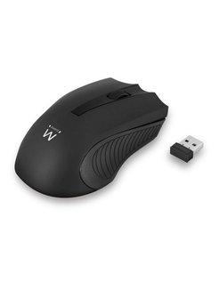 EW3221 RF draadloos + USB Optisch 1200DPI Ambidextrous Zwart muis