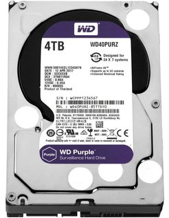 Purple 4000GB SATA III interne harde schijf
