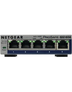 ProSafe Plus 5 Port Gigabit Ethernet Switch