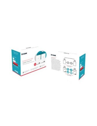 D-LINK D-Link DHP-701AV/E Powerline-Networkadapter 2x Kit