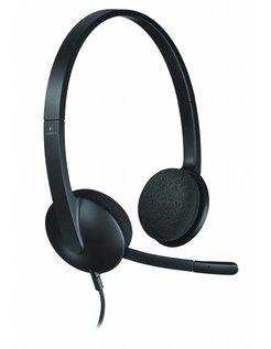 H340 Stereofonisch Hoofdband Zwart hoofdtelefoon