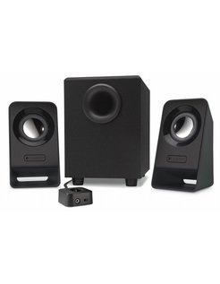 Z213 2.1kanalen 7W Zwart luidspreker set