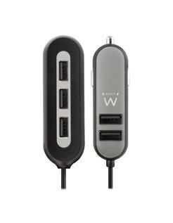 EW1355 Auto Zwart, Grijs oplader voor mobiele apparatuur