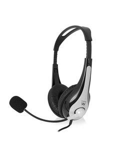 EW3562 Stereofonisch Hoofdband Zwart, Zilver hoofdtelefoon