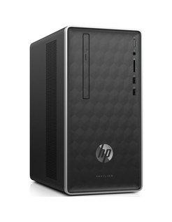 HP Pav. Desk. A9-9425 / 8GB / 1TB + 256GB / DVD / W10