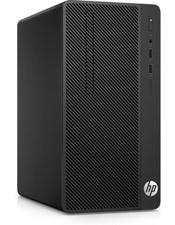 HP 290 G1 Desk / G4560  / 4GB / 500GB+256GB SSD  / DVD / W10