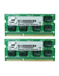 GSkill 16GB DDR3 SODIMM Low volt. 1333 KIT