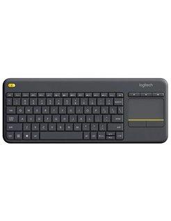 K400 Plus RF Draadloos QWERTY Nederlands Zwart toetsenbord