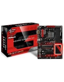 Fatal1ty AB350 Gaming K4 AMD B350 Socket AM4 ATX