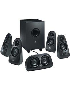 Z506 5.1kanalen 75W Zwart luidspreker set