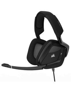 VOID PRO RGB USB Premium Stereofonisch Hoofdband Koolstof hoofdtelefoon
