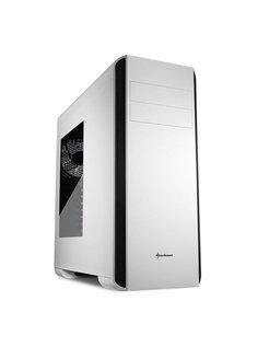 BW9000-W Midi-Toren Zwart, Wit computerbehuizing