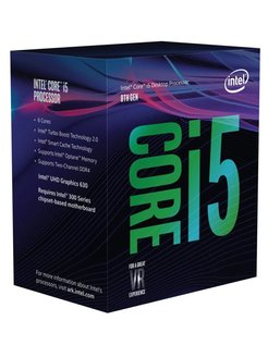 Core i5-8600 processor 3,1 GHz Box 9 MB Smart Cache