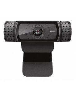 C920 webcam 15 MP 1920 x 1080 Pixels USB 2.0 Zwart