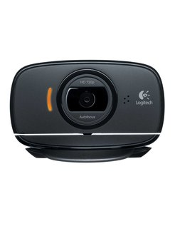 C525 webcam 8 MP 1280 x 720 Pixels USB 2.0 Zwart