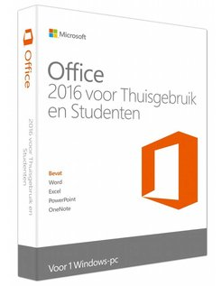 Office 2016 Thuisgebruik en Studenten NL
