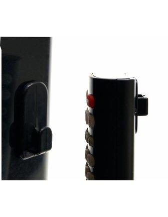 Remote Control Holder Hook White / Black