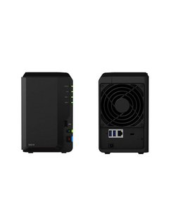 DiskStation DS218 NAS Desktop Ethernet LAN Zwart