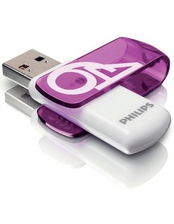 Usb 3.0 64Gb Vivid Edition Purple