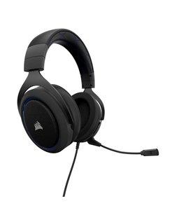HS50 Stereofonisch Hoofdband Zwart, Blauw hoofdtelefoon