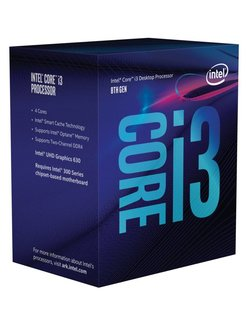 Core i3-8100 processor 3,6 GHz Box 6 MB Smart Cache