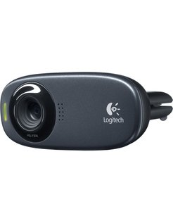 C310 webcam 5 MP 1280 x 720 Pixels USB Zwart